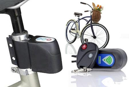 Fietsalarm met code of afstandsbediening | Extra bescherming voor je kostbare (brom)fiets!