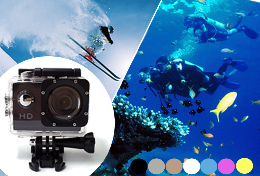 Sport HD 1080P Action camera nu met korting!