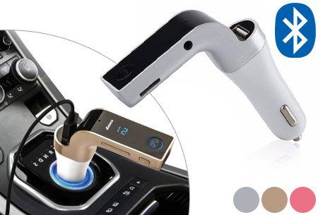 Bluetooth carkit 4-in-1 nu met enorm veel korting!
