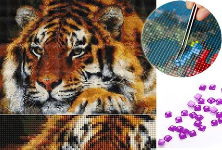 Diamond painting pakketten nu heel goedkoop in de aanbieding