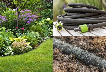 Druppelslang | Voorkom uitdroging van je tuin in de warme seizoenen