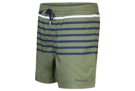 Pierre Cardin multicolor zwembroeken | De nieuwste modellen nu scherp geprijsd! Army streep