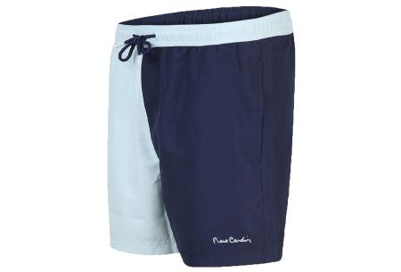 Pierre Cardin multicolor zwembroeken | De nieuwste modellen nu scherp geprijsd! Navy/lichtblauw