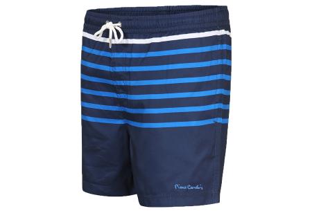 Pierre Cardin multicolor zwembroeken | De nieuwste modellen nu scherp geprijsd! Navy streep