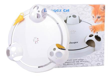 Elektronisch kattenspeeltje | Vermaakt je kat, ook als je niet thuis bent!
