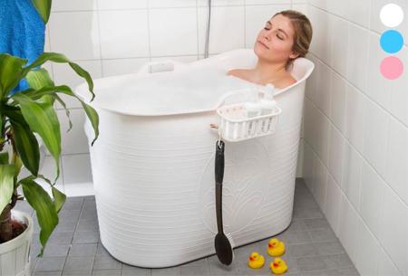 Bath Bucket mobiele badkuip nu met korting