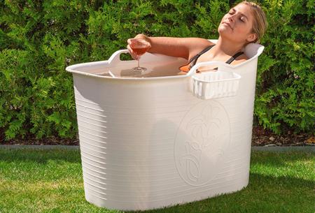 Bath Bucket mobiele badkuip | Plastic zitbad voor volwassenen