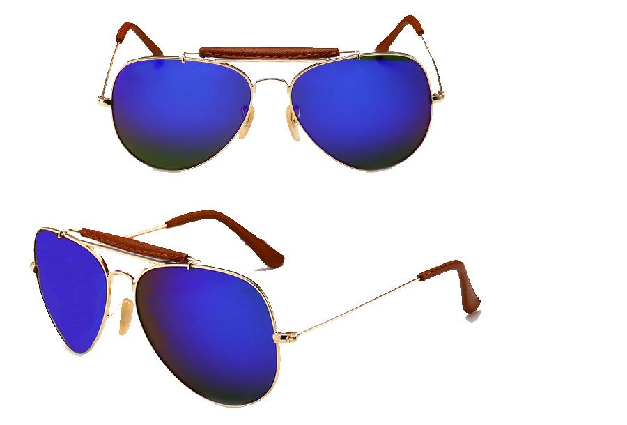 Aviator zonnebril Donkerblauw