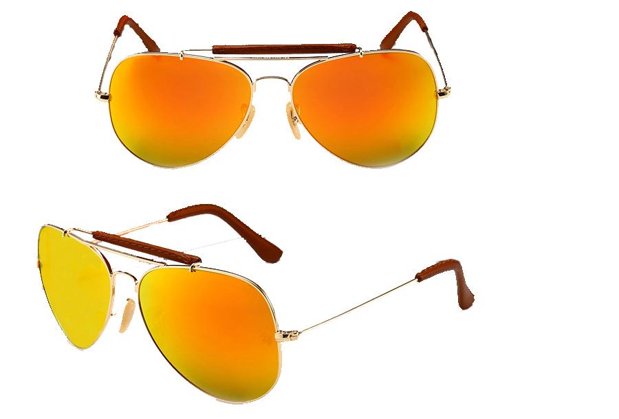 Aviator zonnebril Oranje
