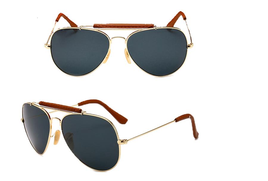 Aviator zonnebril Zwart
