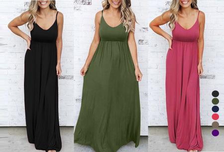 Basic maxi jurk - nu in de aanbieding