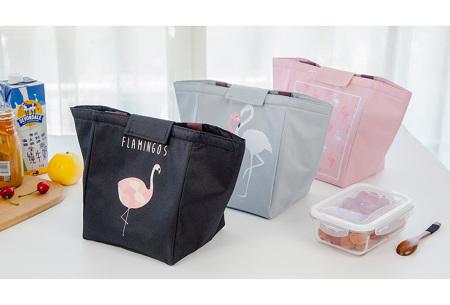 Flamingo koeltas | Altijd overal je eten en drinken gekoeld meenemen