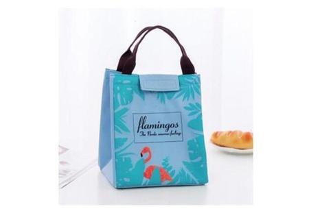 Flamingo koeltas | Altijd overal je eten en drinken gekoeld meenemen groen