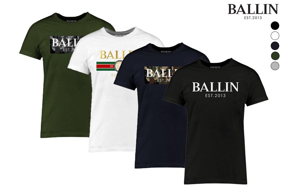 Dagaanbieding - BALLIN Est heren T-shirts met korting dagelijkse koopjes