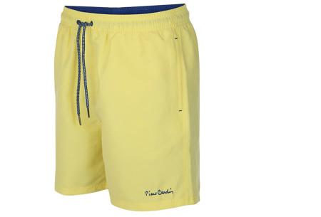 Pierre Cardin zwembroek | Trendy & comfortabele zwemshorts voor heren geel