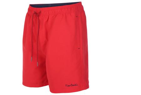 Pierre Cardin zwembroek | Trendy & comfortabele zwemshorts voor heren rood