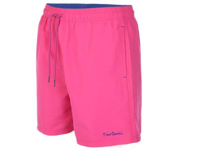 Pierre Cardin zwembroek | Trendy & comfortabele zwemshorts voor heren roze