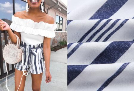 Comfy short | Een soepele, comfortabele broek voor de zomer