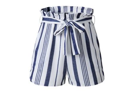 Comfy short | Een soepele, comfortabele broek voor de zomer navy