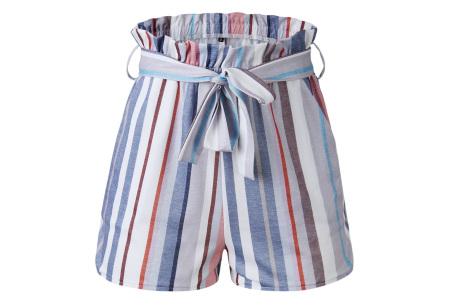 Comfy short | Een soepele, comfortabele broek voor de zomer multicolor