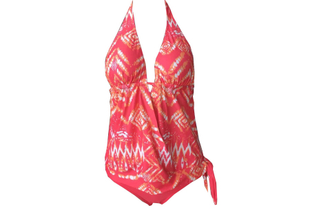 Tankini | Voel je op je best op het strand! Roze
