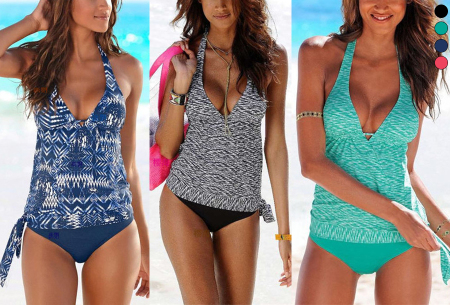 Tankini in de sale