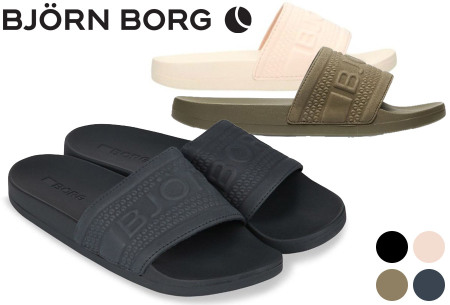 Björn Borg Romeo slippers voor dames & heren - nu in de sale
