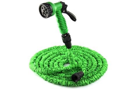 Flexibele tuinslang van Your Basics | Automatisch uitrekbare waterslang voor al je sproeiklusjes