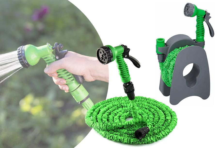 Flexibele tuinslang in de aanbieding