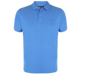 Pierre Cardin herenpolo's | Topkwaliteit poloshirts van volledig katoen - Extra afgeprijsd, OP=OP blauw