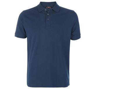 Pierre Cardin herenpolo's | Topkwaliteit poloshirts van volledig katoen - Extra afgeprijsd, OP=OP navy