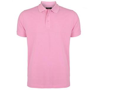 Pierre Cardin herenpolo's | Topkwaliteit poloshirts van volledig katoen - Extra afgeprijsd, OP=OP roze