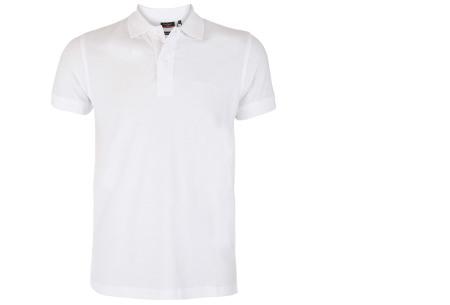 Pierre Cardin herenpolo's | Topkwaliteit poloshirts van volledig katoen - Extra afgeprijsd, OP=OP wit