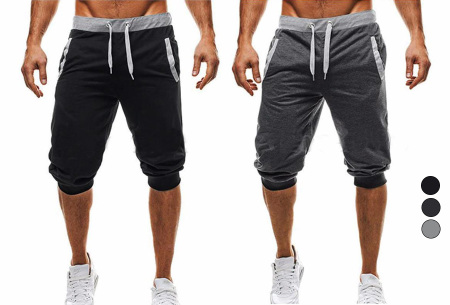 Heren joggingshort - in de aanbieding