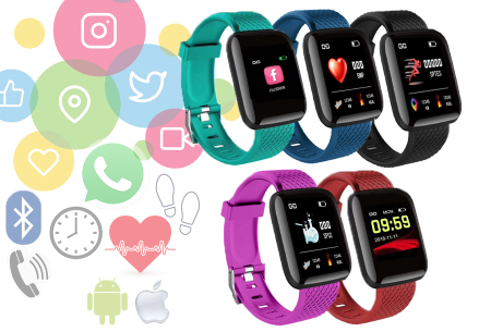 Smartwatch K4 voor een spotprijs in de aanbieding