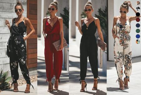 Zomerse jumpsuit | Trendy broekpak voor dames in 8 kleuren