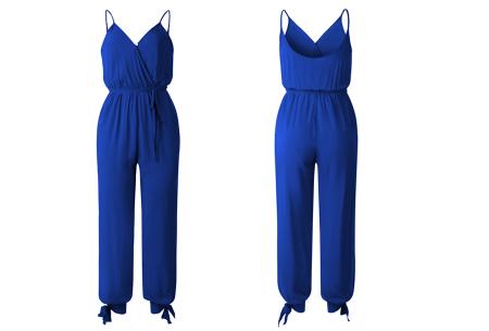 Zomerse jumpsuit | Trendy broekpak voor dames in 8 kleuren Kobaltblauw