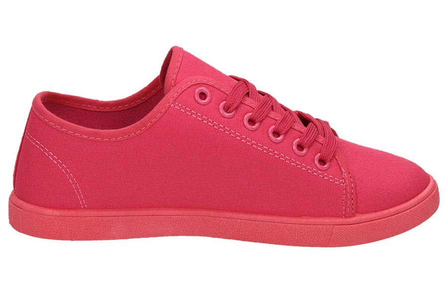 Basic dames sneakers Maat 37 - Fuchsia - CL33319