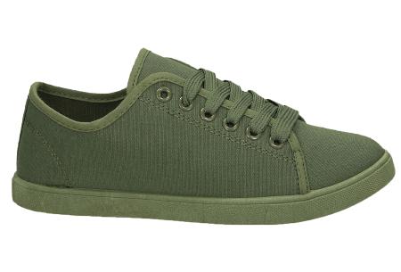 Basic dames sneakers | Een musthave schoen voor iedere dame Olijf