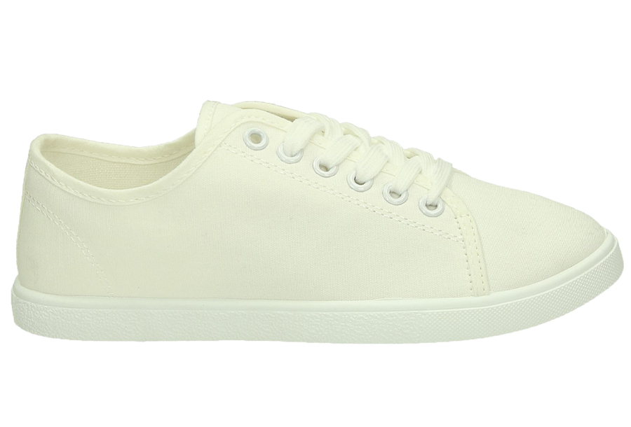 Basic dames sneakers Maat 41 - Wit - CL33319