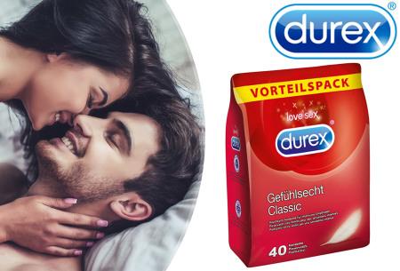 Durex Gevoelsecht Classic condooms voordeelpakket - nu in de aanbieding