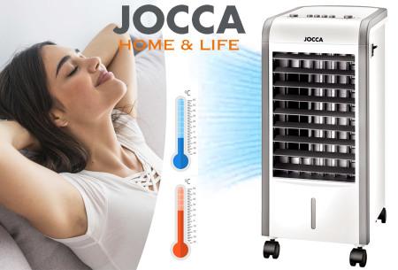 Jocca mobiele aircooler & heater in 1 | Heerlijke verkoeling in de zomer & warmte in de winter!