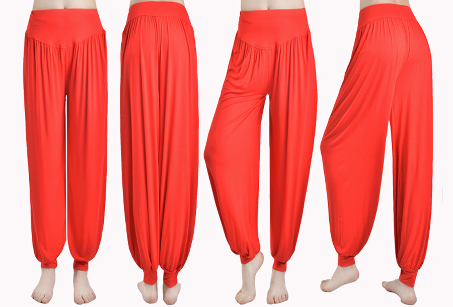 Chill out broek - Maat 2XL - Rood