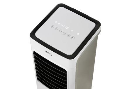 Moa 3-in-1 Aircooler deluxe | Mobiele luchtkoeler voor krachtig koelen, zuiveren én bevochtigen