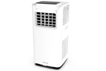 IKOHS compacte airconditioner | Biedt de nodige verkoeling tijdens de hete dagen Wit