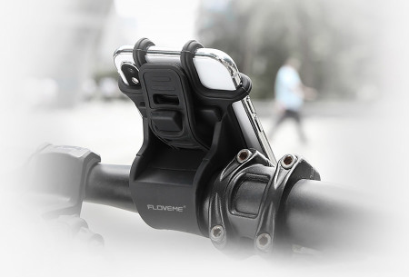Fiets telefoonhouder | Veilig handsfree appen en bellen op je fiets - voorkom een dure boete