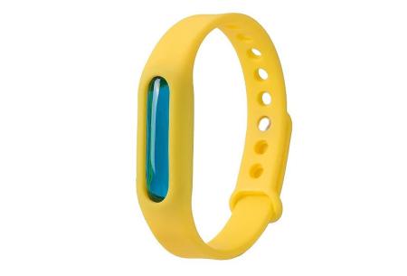 Anti-mug armbandjes   Geen last meer van jeukende muggenbulten! geel