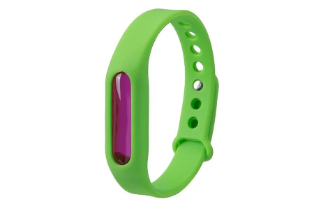Anti-mug armbandjes   Geen last meer van jeukende muggenbulten! groen