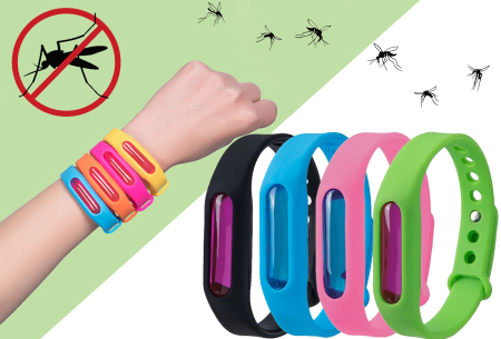 Anti-mug armbandjes - in de aanbieding bij Vouchervandaag.nl