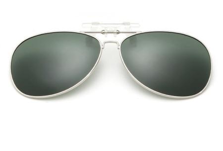 Clip-on aviator zonnebril | Van gewone bril naar zonnebril dankzij handig clipsysteem donkergroen